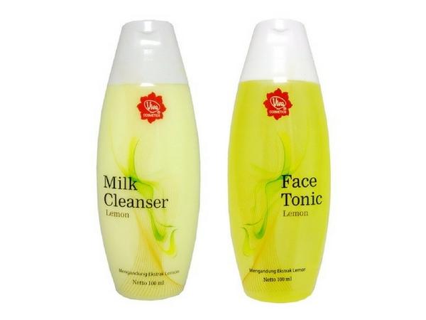 Milk Cleanser Lemon Face Tonic Lemon